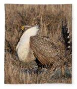 Sage Grouse Fleece Blanket
