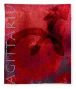 Sagittarius Fleece Blanket