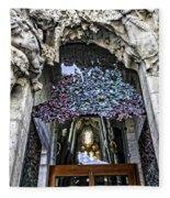 Sagrada Familia Doors - Barcelona - Spain Fleece Blanket