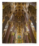 Sagrada Familia IIi Fleece Blanket
