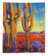 Desert Keepers Fleece Blanket