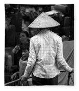 Saigon I Fleece Blanket