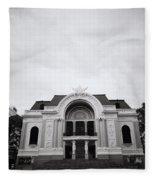 Saigon Opera House Fleece Blanket