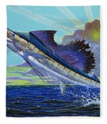 Sail Away Off0014 Fleece Blanket