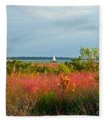 Sail Boat Honeymoon Island Fleece Blanket