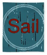 Sail Fleece Blanket