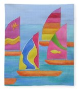 Sailabration Fleece Blanket