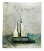 Sailin' With Sally Starr Fleece Blanket