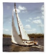 Sailing 1 Fleece Blanket