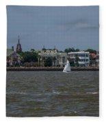 Sailing Class Fleece Blanket