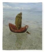 Sailing Home Fleece Blanket