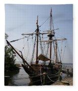 Sailing Ship Fleece Blanket
