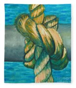 Sailor Knot 9 Fleece Blanket