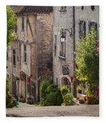 Saint Cirq Street Fleece Blanket