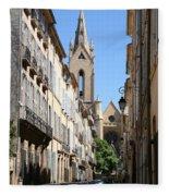 Saint Jean De Malte - Aix En Provence Fleece Blanket