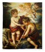 Saint John Baptist Fleece Blanket