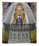 Saint John The Divine Rear Altar View Fleece Blanket