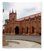 Saint John's Cathedral Anglican Church Peshawar Pakistan Fleece Blanket