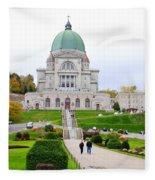 Saint Joseph Du Mont Royal Fleece Blanket