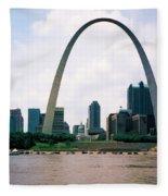 Saint Louis Arch Fleece Blanket