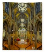 Saint Malachy The Actors Chapel  Fleece Blanket