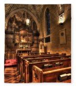 Saint Marks Episcopal Cathedral Fleece Blanket