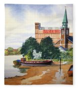 Saint Mary's Church Battersea London Fleece Blanket