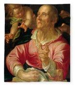 Saint Matthew Fleece Blanket