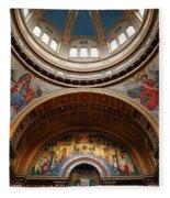 Saint Matthew's Cathedral Fleece Blanket