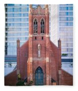 Saint Patrick's Church San Francisco Fleece Blanket