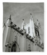 Saint Paul Cathedral In Cathedral Fleece Blanket