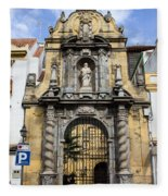 Saint Paul Church In Cordoba Fleece Blanket