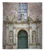 Saint Peters Doorway Fleece Blanket