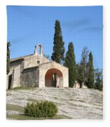 Saint Sixte An Old Chapel Fleece Blanket