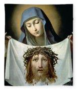 Saint Veronica Fleece Blanket