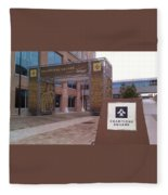 Saints - Champions Square - New Orleans La Fleece Blanket