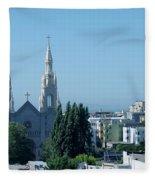 Saints Peter And Paul Church Fleece Blanket