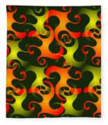 Salamanders Dream Fleece Blanket
