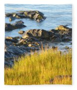 Salem Coastline Fleece Blanket