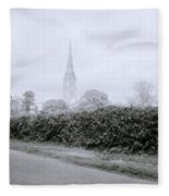 Salisbury Cathedral Fleece Blanket