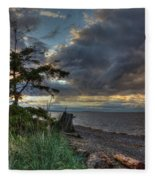 Salish Storm Fleece Blanket