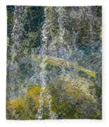 Salmon Art Fleece Blanket