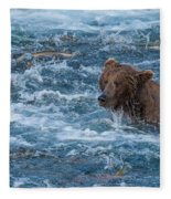 Salmon Salmon Everywhere Fleece Blanket