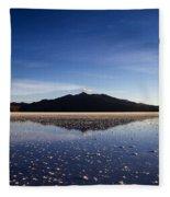 Salt Cloud Reflection Fleece Blanket