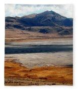 Salt Lake City Antelope Island Fleece Blanket