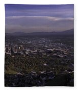 Salt Lake Valley Fleece Blanket