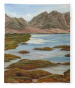 Salt Marsh Fleece Blanket