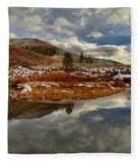Salt River Landscape Fleece Blanket