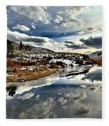 Salt River Pass Fleece Blanket