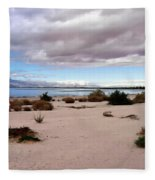 Salton Sea California Fleece Blanket